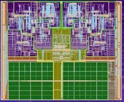 Das Die des Intel Yonah