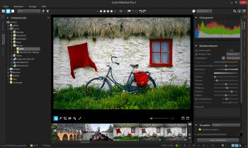 Die Bedienoberfläche von AfterShot Pro 2 hat Corel ein wenig entschlackt.