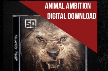 """Seit Dienstag erhältlich und auch mit Bitcoins bezahlbar: """"Animal Ambition"""" von 50 Cent."""