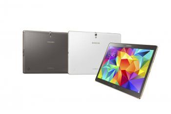Das Galaxy Tab S 10.5 gibt es in zwei Farben.