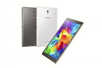 Auch das Galaxy Tab S 8.4 gibt es in den beiden Farben.