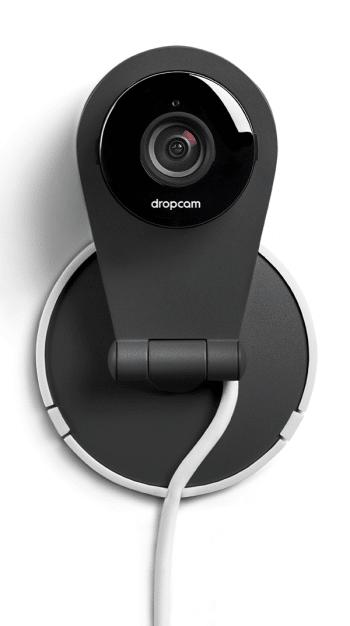 Eine installierte Dropcam.