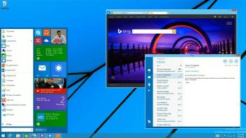 Wohl noch nicht im anstehenden Windows 8.1 Update 2 enthalten: Das auf der Build gezeigte Startmenü für Windows 8.1