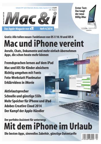 Mac & i Heft 4/2014: Titelbild