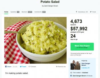 Zack Danger Browns kulinarisch eher schlichtes Kickstarter-Angebot hat inzwischen bereits etliche Nachahmer gefunden.