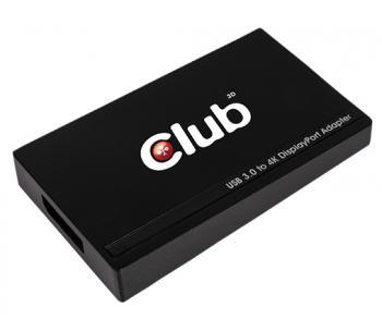 Club3D stellt einen USB-3.0-Grafikadapter vor, der 4K-Displays via DisplayPort 1.2 ansteuert.