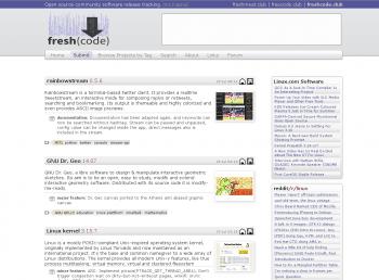 Neues Projekt Freshcode.club