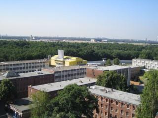 Die JVA Tegel im Panorama