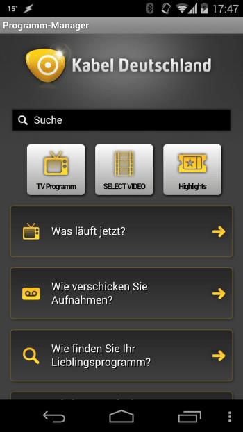 Kabel-Deutschland-App öffnet Abzockern Tür und Tor