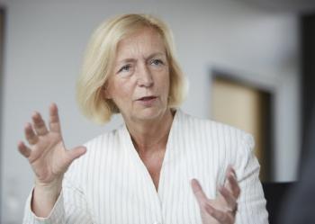 """Deutschland soll  """"Innovations-Weltmeister"""" werden, fordert Forschungsministerin Johanna Wanka (CDU)."""