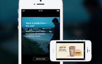 Sponsored Session: Wer sich freiwillig einen Werbe-Spot anschaut, kann danach 30 Minuten reklamefrei streamen.