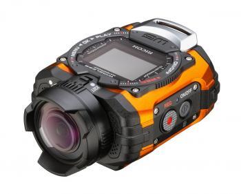 Action-Cams wie die neue Ricoh WG-M1 werden auch ein zentrales Thema auf der Photokina 2014 sein.