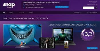 Sky Deutschland senkte vor dem Netflix-Start bei seinem Videodienst Snap prophylaktisch den Einstiegspreis.