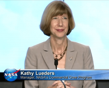 NASA-Managerin Kathy Lueders