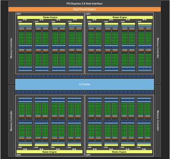 Der Maxwell-Chip GM204 hat 2048 Shader-Rechenkerne und unterstützt Direct3D 11.2 vollständig.