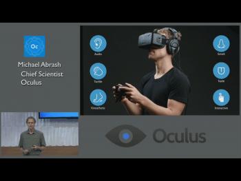 Oculus sieht Virtual Reality als ganzheitliches Problem, bei dem nicht nur die Augen überlistet werden müssen.