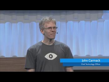 John Carmack erzählte von seinen Erfahrungen mit Android und Samsung. Über andere Mobilssysteme, etwa von Apple oder Microsoft, verlor er kein Wort.