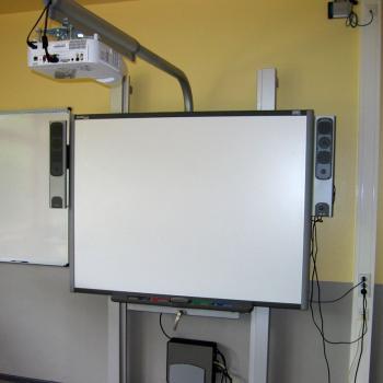 Smartboard im Klassenzimmer