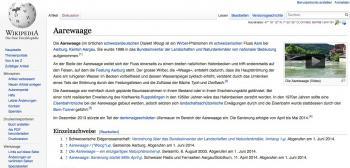 Videos kommen in der Wikipedia bislang nur sporadisch vor