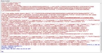 ADE überträgt auch Informationen zu DRM-freien Titeln.