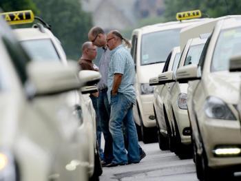 Noch gehören die Straßen den Taxifahrern.