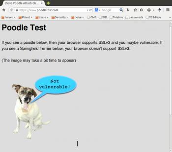 Wenn der Poodle Test einen Terrier anzeigt, droht keine Gefahr mehr.