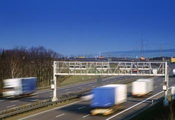 Maut-Brücken auf deutschen Autobahnen