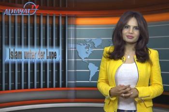 Die aus Pakistan stammende Frauenrechtlerin Sabatina James auf Al Hayat TV.