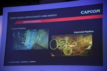 Capcom integriert Mantle in seine Panta-Rhei-Engine.