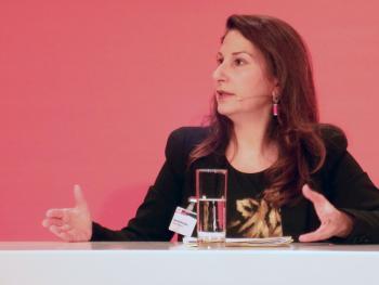 Dana Eleftheriadou von der EU-Kommission.