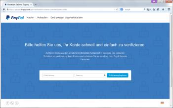 Die Masche ist alt, die Umsetzung aber selten so perfekt: Paypal-Phishing mit knackiger Domain und HTTPS-Zertifikat.