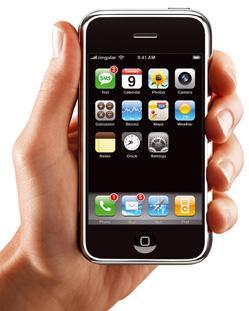 Ab heute wird das iPhone in den US-Läden von Apple und AT&T angeboten.