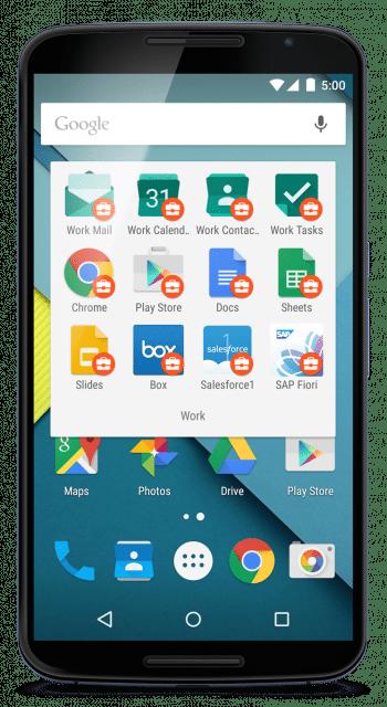 Google liefert einen Satz von Anwendungen für Mail, Kalender, Kontakte und Office-Dokumente, die Unternehmensdaten kapseln.
