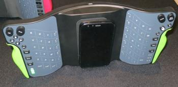 MWC: Tastatur zum um die Ecke schreiben