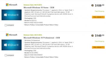 Screenshot von Newegg.com