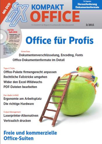 Titelseite IX Kompakt Office