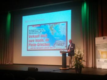 Volker Lilienthal kritisierte den klickstarken Kampagne-Journalismus