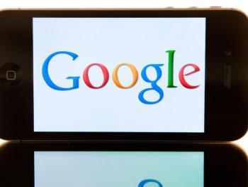 Handy zeigt Google-Logo