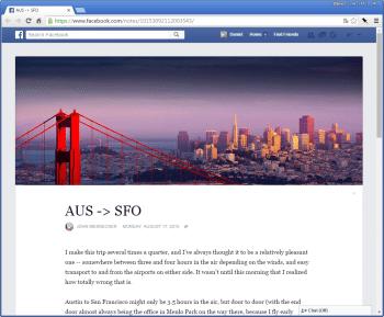 Medium.com als Vobild? Facebook hat seine Notiz-Funktion zu einer kleinen Blog-Plattform ausgebaut