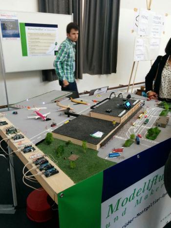 Maker Faire Berlin: Dada-Rhythmik und Mini-Konsolen in der DNA
