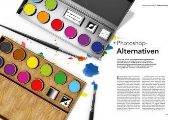 c't Digiatel Fotografie, Photoshop Alternativen
