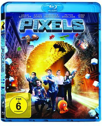 """Die Science-Fiction-Komödie """"Pixels"""" soll in Deutschland mit Auro-3D-Tonspur auf Blu-ray Disc erscheinen."""