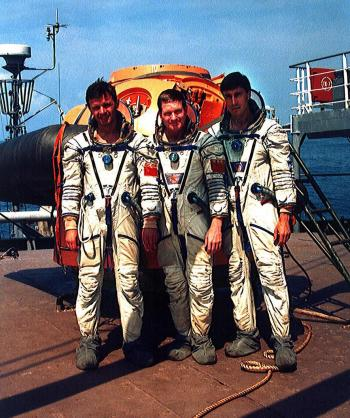 Erste ISS-Crew