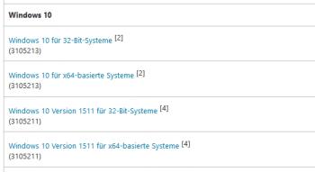 Teilnehmer des Insider-Programms haben es schon: Windows 10 Version 1511, aka Build 10586.