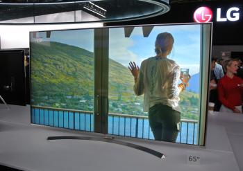 Die Super UHD Fernseher von LG erreichen einen hohen Kontrast und zeigen satte Farben an.