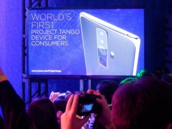 So oder ähnlich könnte das noch namenlose Tango-Phone von Lenovo aussehen.