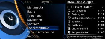 ConnectedDrive-Oberfläche