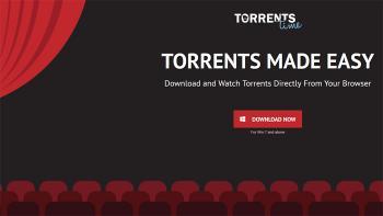 Die Startseite von Torrents Time