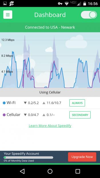 Speedify kombiniert mehrere Datenkanäle für schnellere Online-Verbindung.