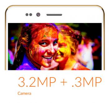 Eine Kamera mit 3,2 Megapixel und eine Frontkamera mit 3 Megapixel soll Freedom 251 auch haben.